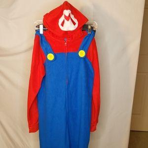 Super Mario Brothers Pajamas or Costume